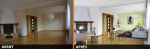 Successful real estate pictures: home staging