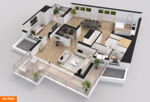 3D Floor Plan Real Estate