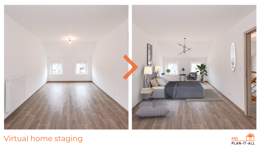 virtuel Home staging real estate